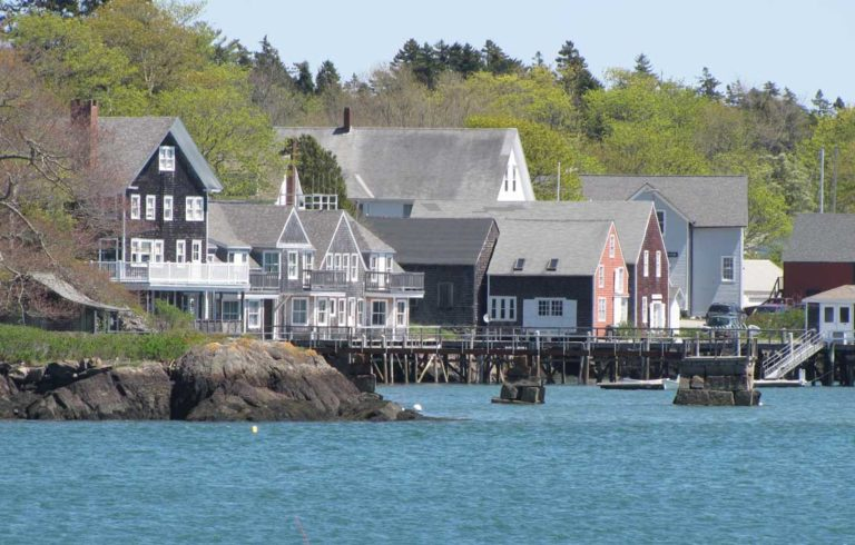 North Haven's waterfront.