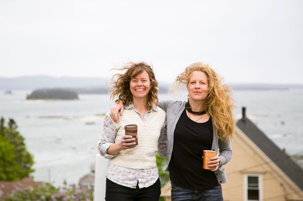 Melissa Raftery and Megan Wood of 44 North Coffee