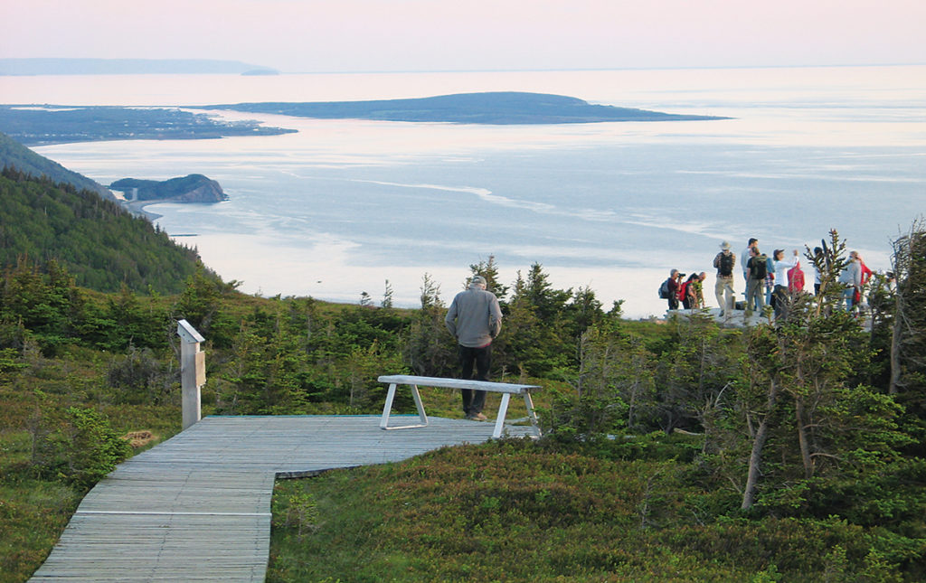 Sunset views on the Skyline Trail in Cheticamp at Cape Breton Highlands National Park