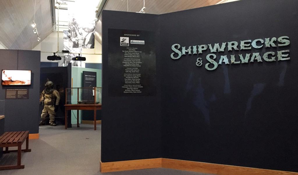 The museum's exhibit space.