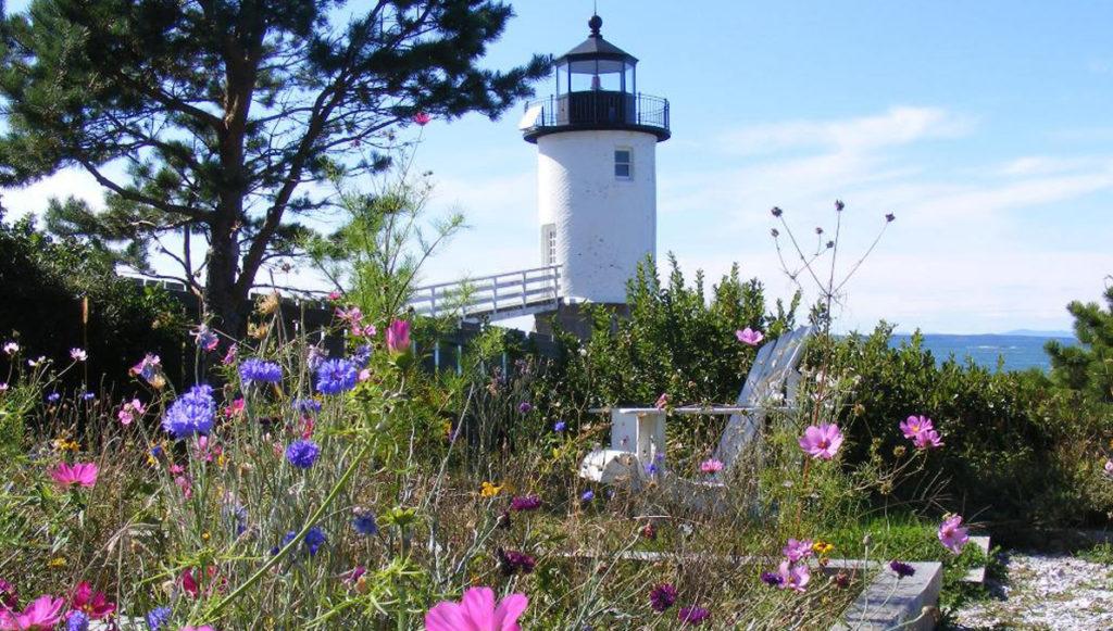Isle au Haut's lighthouse.