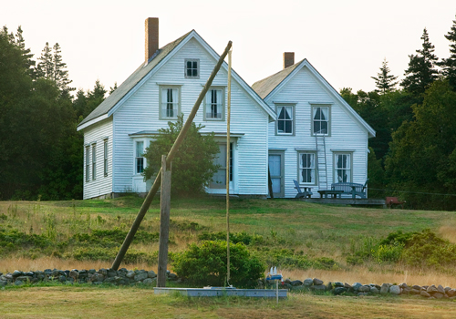 The house on Gotts Island