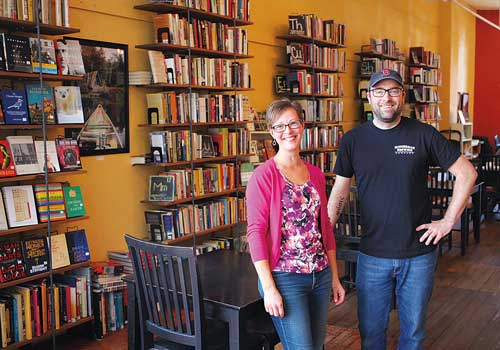 Katie Pinard and Michael Macomber