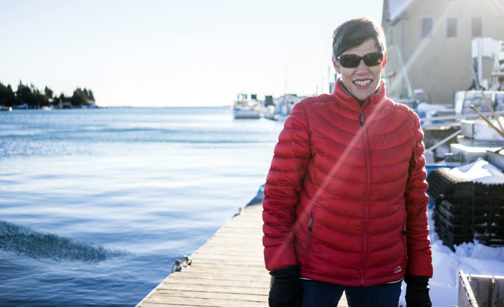 Emily Lane of Vinalhaven is the new chairwoman of the Island Institute's board of trustees.