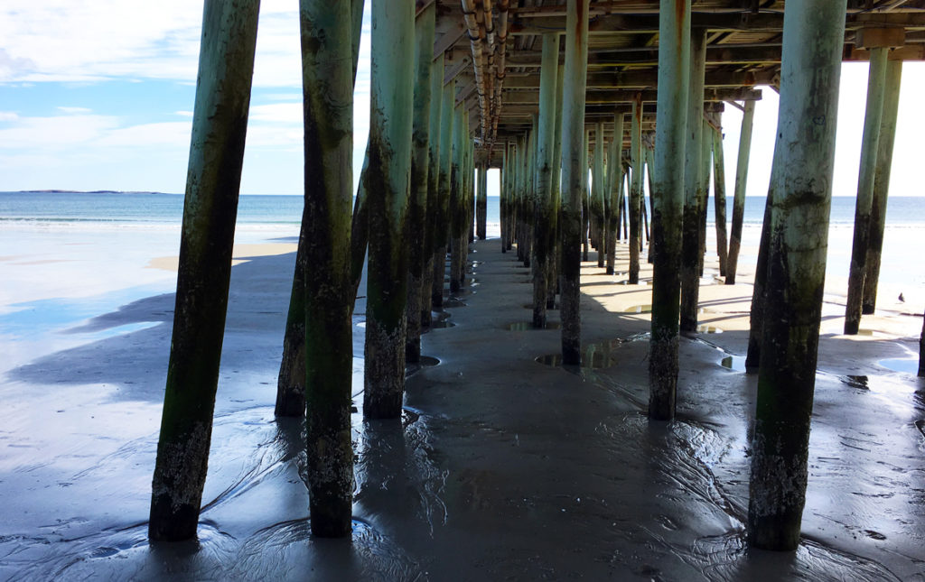 The pier at Old Orchard Beach.