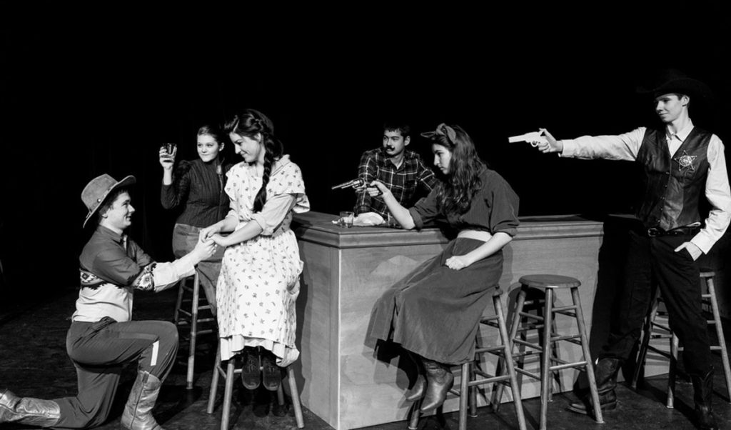 North Haven students competed in the statewide one-act play contest.