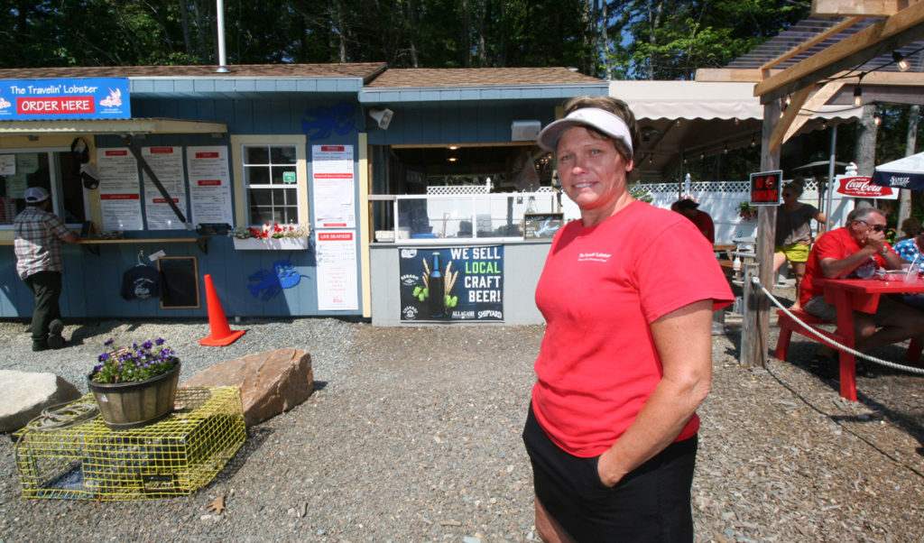 Kelly Corson has seen considerable success at The Travelin Lobster