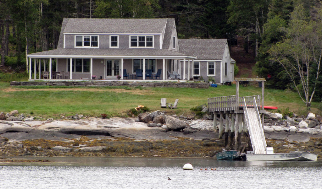 Waterfront properties remain a strong sector of the real estate market.