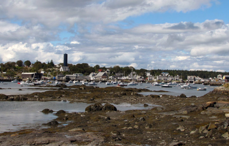 Vinalhaven's Carver's Harbor.