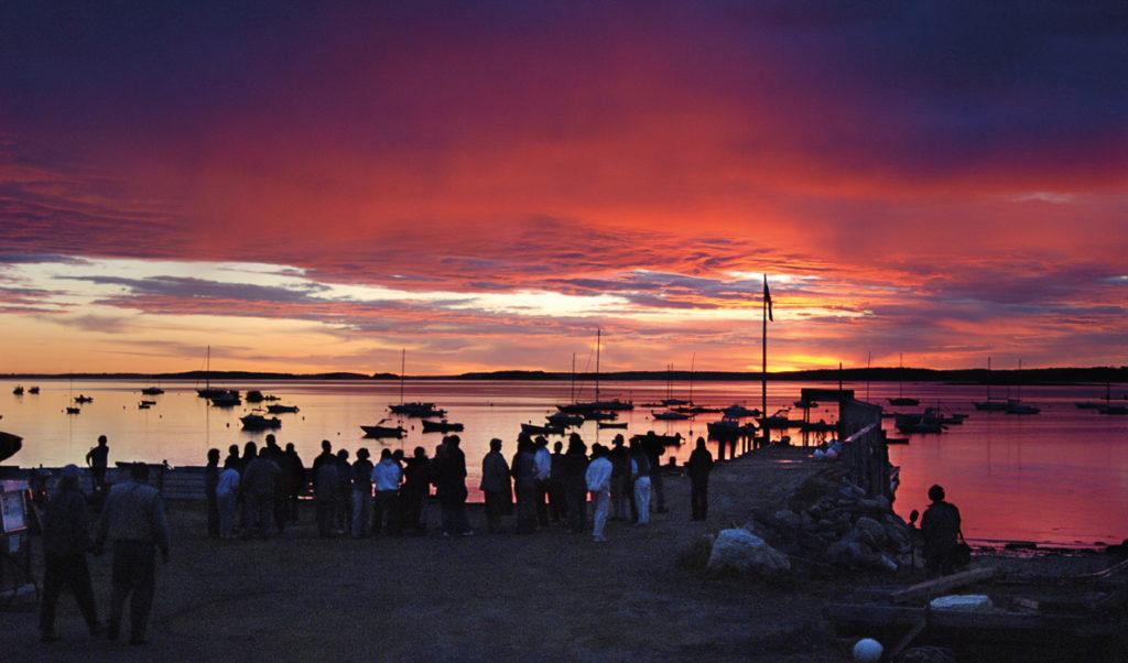 Chebeague Island at dawn