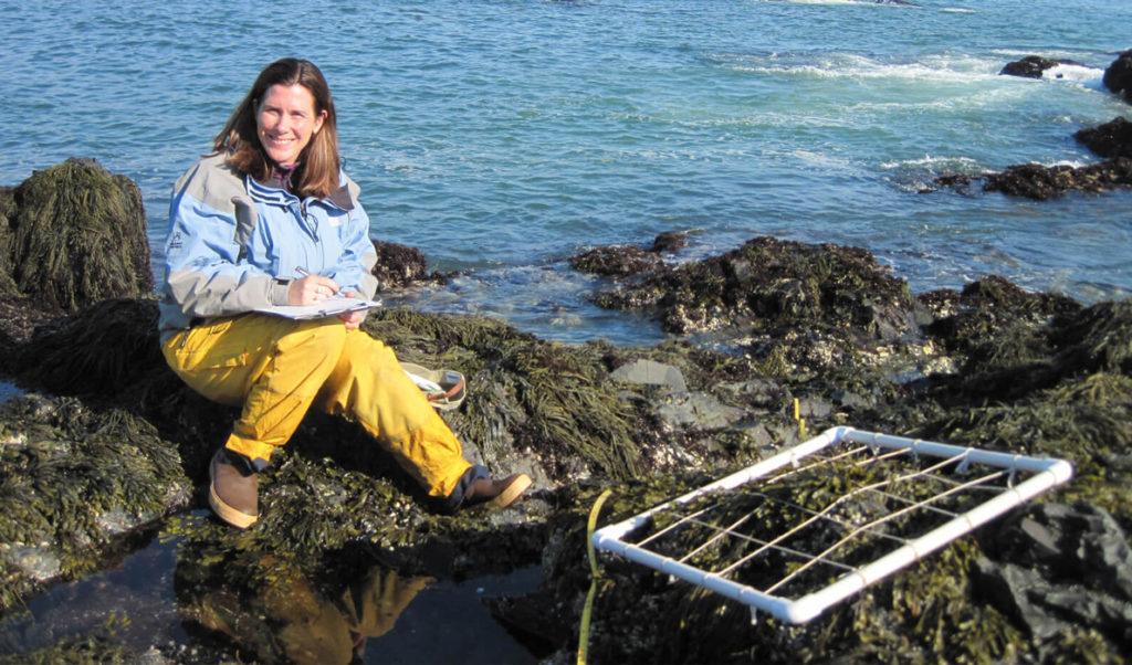 Heather Leslie of the Darling Marine Center.