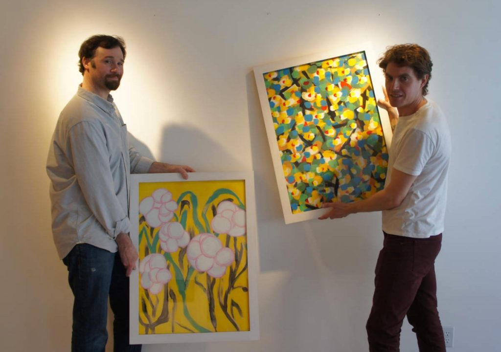 Gallery owners Jared Cowan and Orlando Johnson will present at the conference