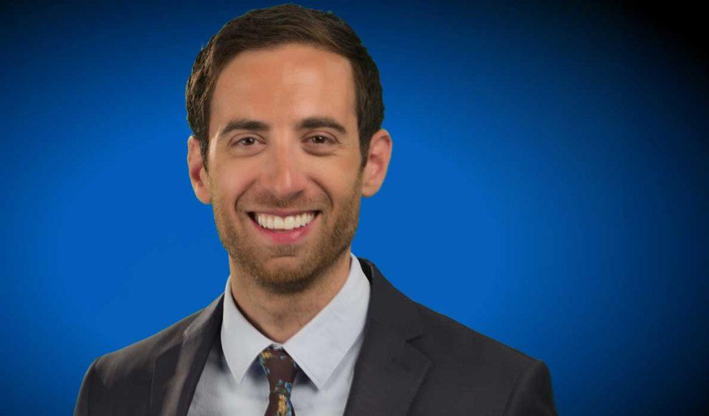 WCSH-TV's meteorologist Keith Carson.