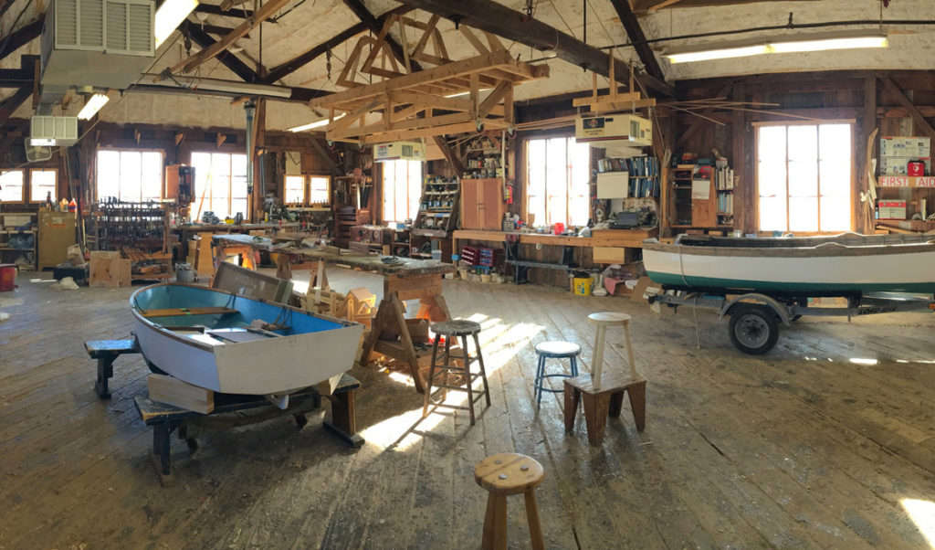 The shop at Maine Maritime Museum in Bath.
