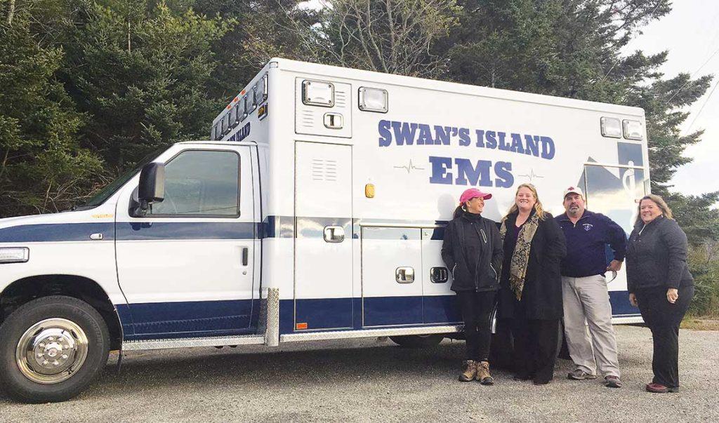 Swan's Island EMTs