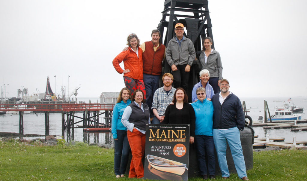 The crew that publishes Maine Boats
