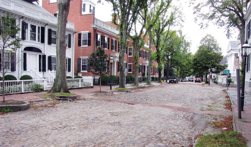 Nantucket's Upper Main Street.