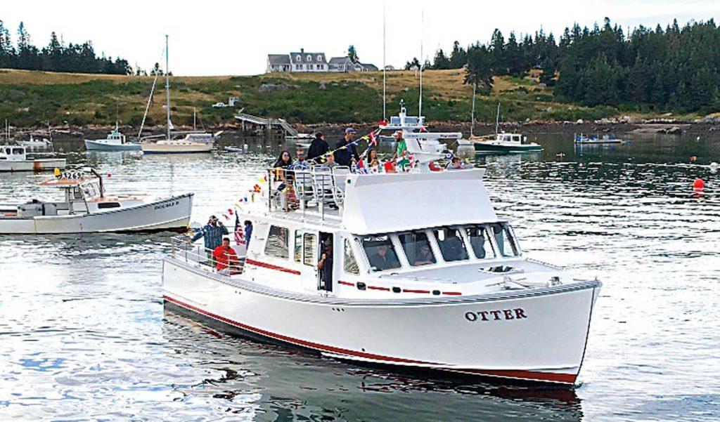 The Otter off Isle au Haut.