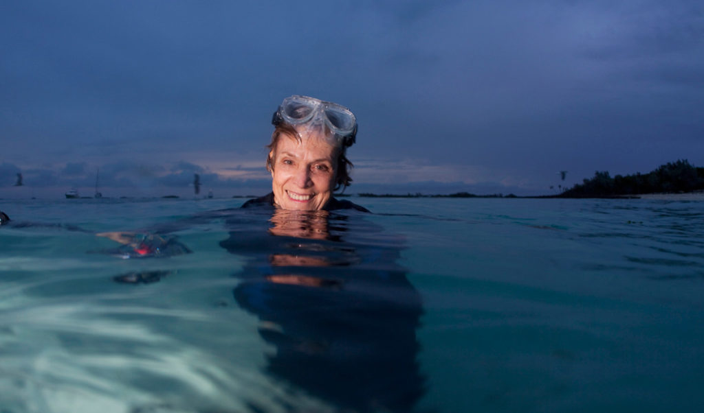 Sylvia Earle in her element.