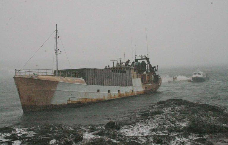 The fishing vessel Westward