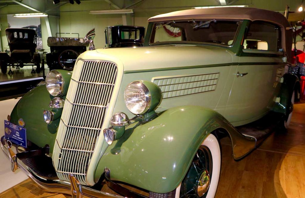 Edsel Ford's custom built 1934 Luxus