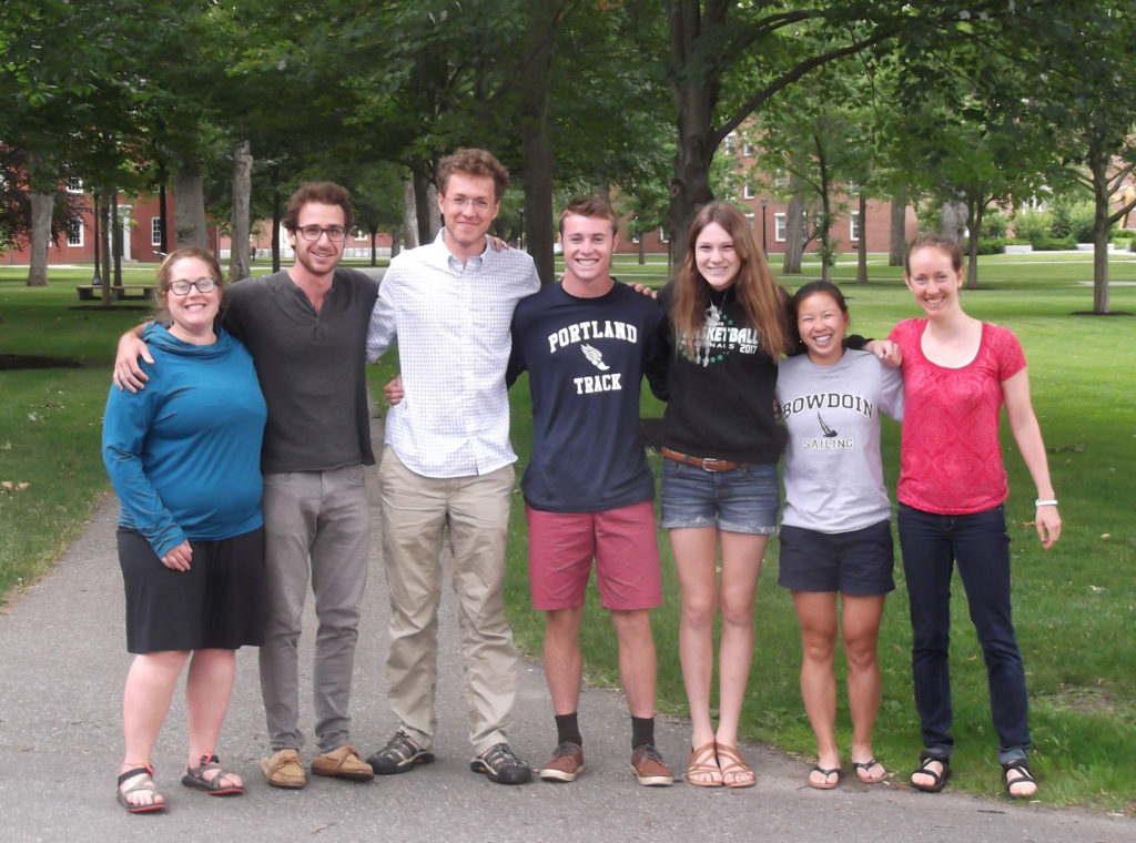 Participants and facilitators at the MAP Leadership Intensive at Bowdoin College in early July