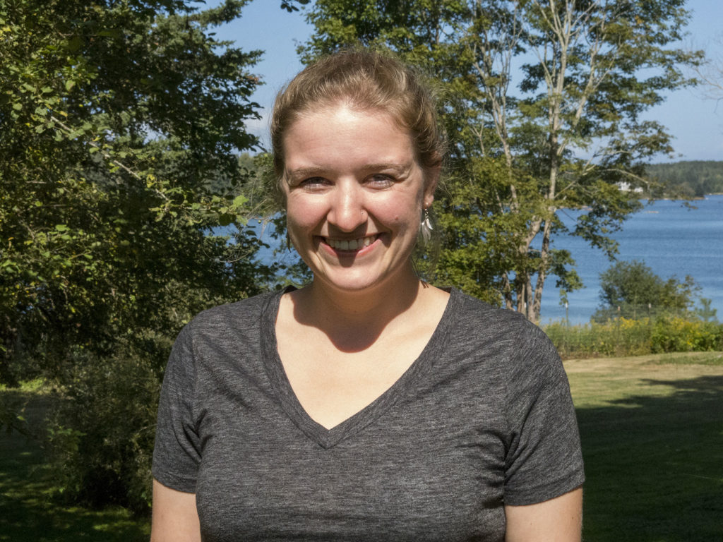 Meghan Cooper started as an Island Fellow in Millinocket in mid-January. She is working with the Millinocket Memorial Library to develop a community resource and volunteer coordination center for the Katahdin region.