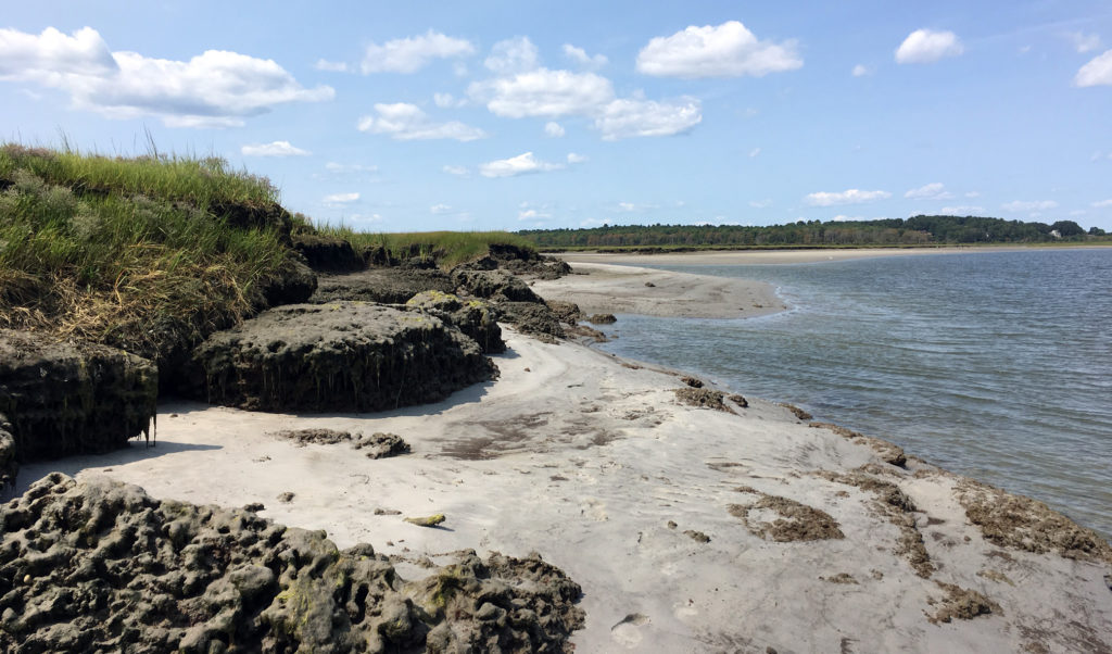 The Nonesuch River in Southern Maine.