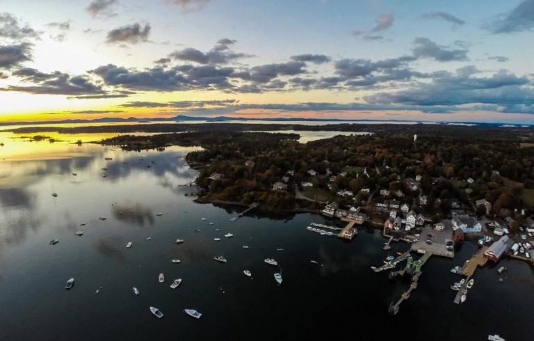 North Haven sunset.