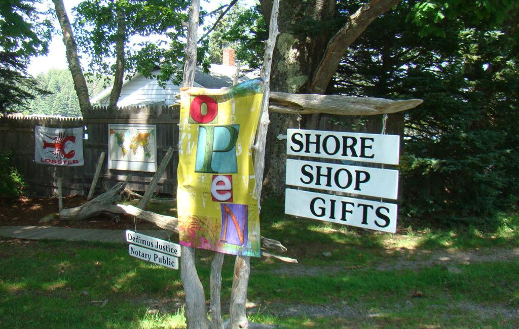 Shore Shop Gifts on Isle au Haut