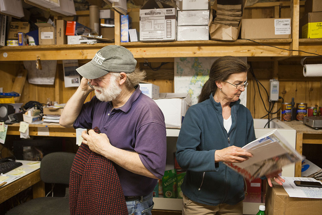 Brian and Kathy Krafjack of The Island Market and Supply on Swan's Island