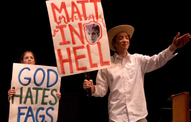 A scene from The Laramie Project.