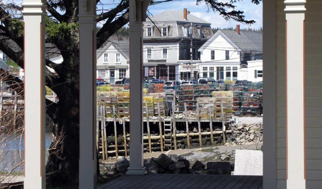 A view of downtown Vinalhaven.