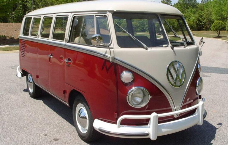 A 1967 VW Camper.