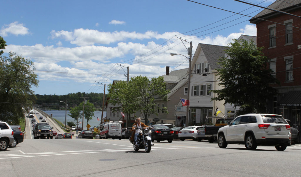 Wiscasset's historic downtown is on Maine Preservation's list of threatened properties.