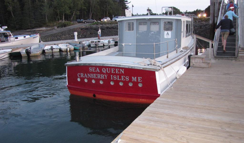 Beal & Bunker's Sea Queen in Northeast Harbor.