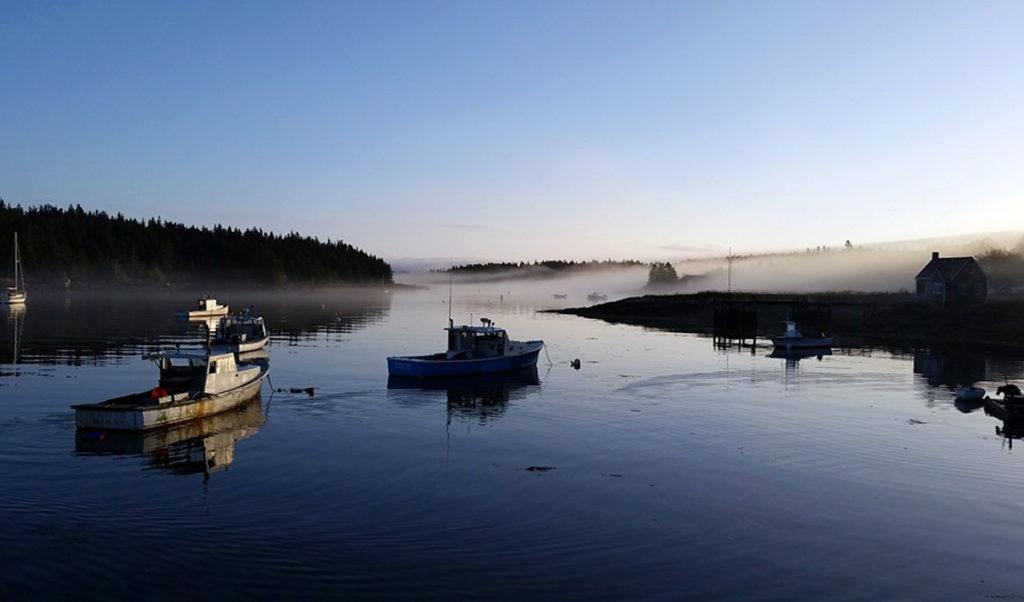 Isle au Haut dawn.