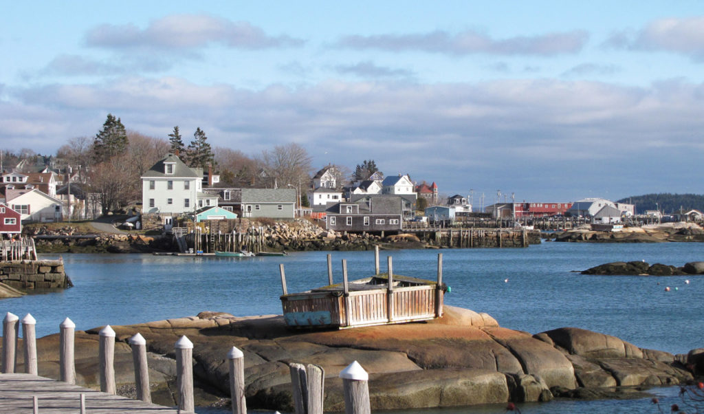 Stonington Harbor.