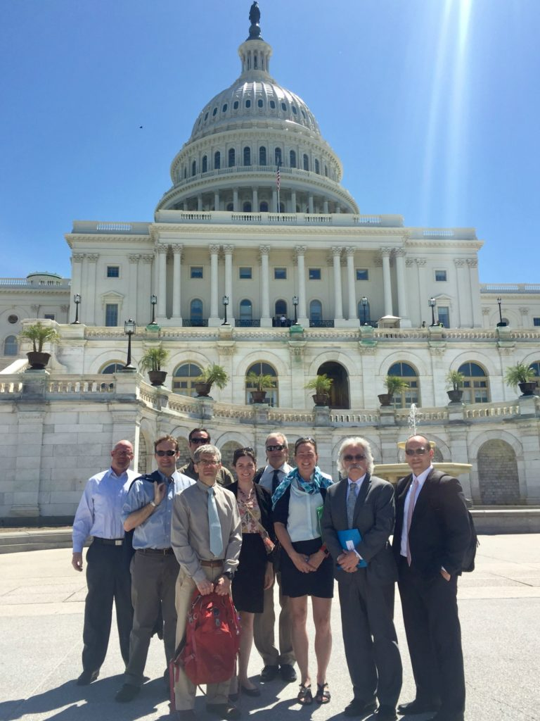 Maine stakeholders partnered with guests from Rhode Island during the Ocean Conservancy's fly-in event