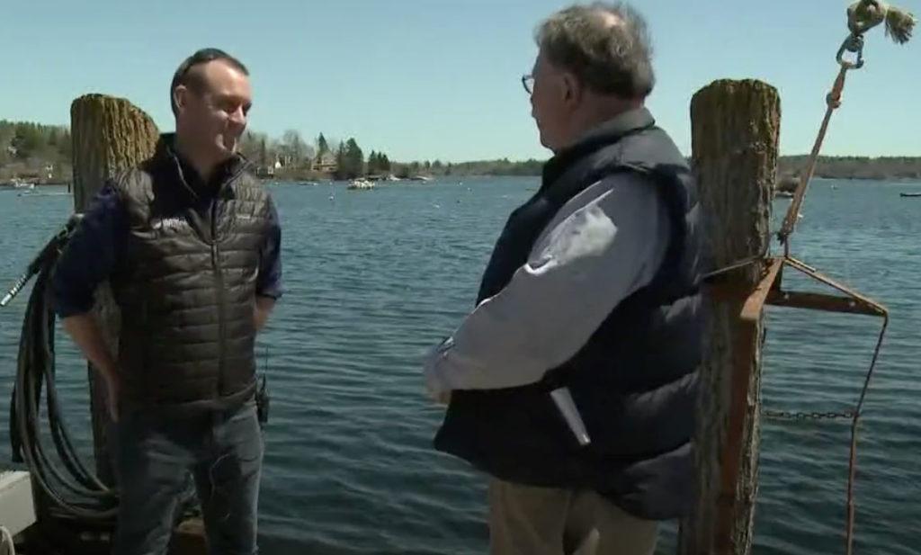 News Center Maine's Don Carrigan interviews Sam Belknap