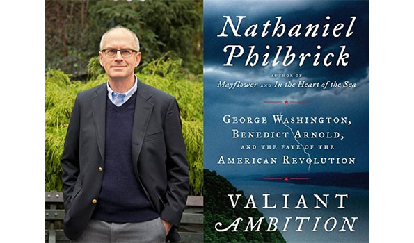 Renowned history writer Nathaniel Philbrick talked about his latest book