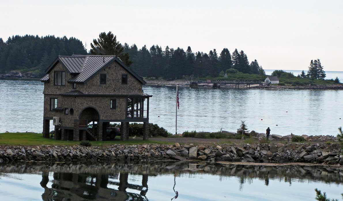 Tenant's Harbor house sea level rise