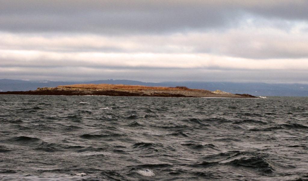 A small island near North Haven
