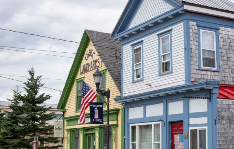 Lubec Downtown