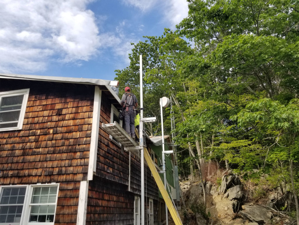 Cliff Island Community Hall broadband