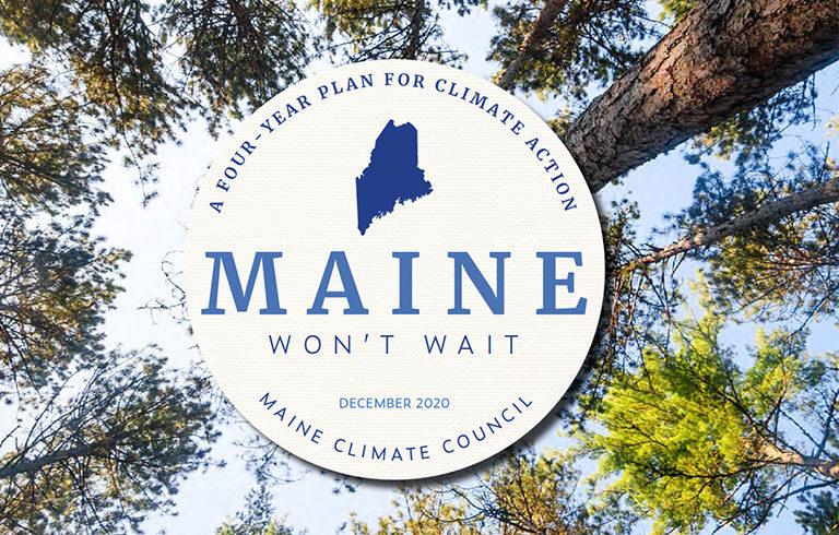 Maine Won't Wait climate action plan